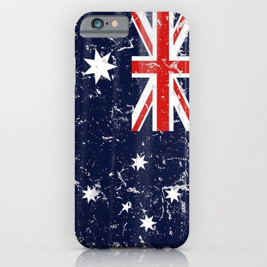 Australia vintage flag iPhone & iPod Case