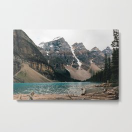 Morning at Moraine Metal Print
