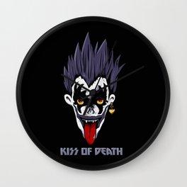 Kiss of Death Wall Clock