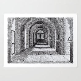 Church Gallery Art Print