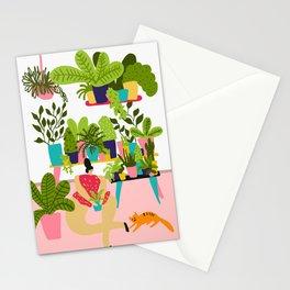 Love Plants Stationery Cards