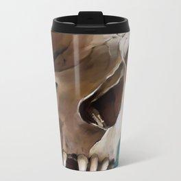 Skull 2 Metal Travel Mug