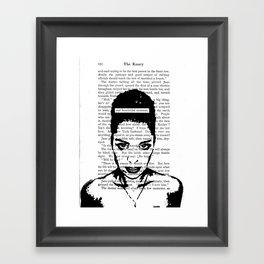 One Homicidal Moment Framed Art Print
