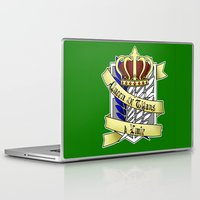 teen titans Laptop & iPad Skins featuring Queen of Titans Ymir by Beasty