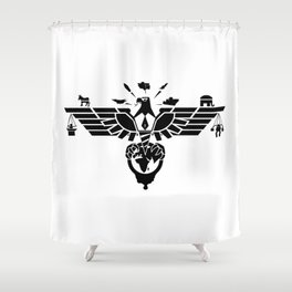 Eagle of the West Shower Curtain