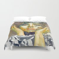 artpop Duvet Covers featuring ARTPOP by Abhivision