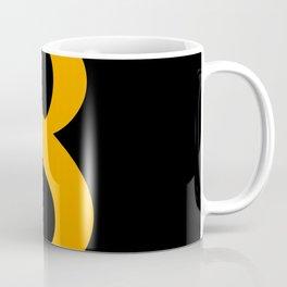 8 (ORANGE & BLACK NUMBERS) Coffee Mug