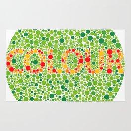 Colour Blindness Rug