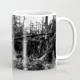Fallen And Broken Trees After Storm Victoria February 2020 Möhne Forest 4 bw Coffee Mug