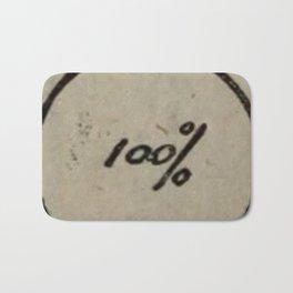 100% Bath Mat