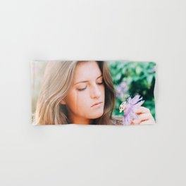 Flower photography by Seth Doyle Hand & Bath Towel