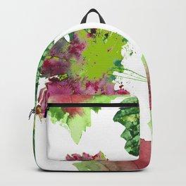 Vine leaves composition Backpack