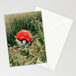 real Pokeball Stationery Cards
