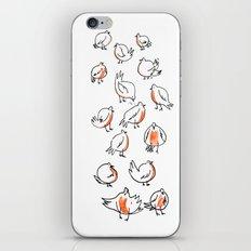 Erithacus rubecula iPhone & iPod Skin