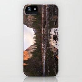 Yosemite - El Capitan & Merced River - Sunset in Winter iPhone Case