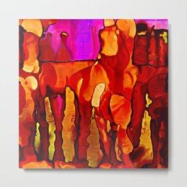Cavern Colors Metal Print