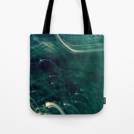 Disappearance Of Light (Late Walk) Tote Bag