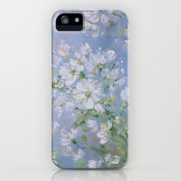 Sweet Wild Roses iPhone Case