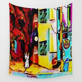 Gentrifying Candyland Wall Tapestry