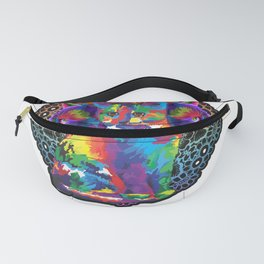 Rainbow Cat furniture Design by diegoramonart Fanny Pack