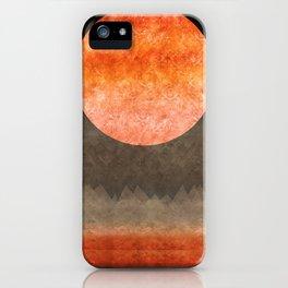 """""""Sabana night light moon & stars"""" iPhone Case"""
