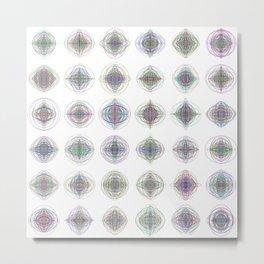 6x6 008 - gallery of modern gyroscopes Metal Print