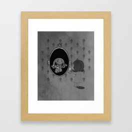 Darksided Framed Art Print