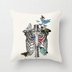 Anatomy 101 - The Thorax Throw Pillow