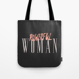 POWERFUL WOMAN Tote Bag