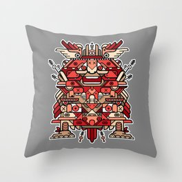 Totem 4 Throw Pillow