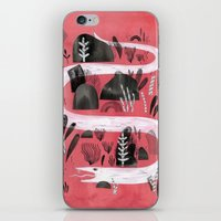 snake iPhone & iPod Skins featuring Snake by Maggie Chiang