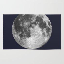Full Moon on Navy English Rug