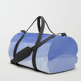 Imperial Lapis Lazuli - Triangles Minimalism Geometry Duffle Bag