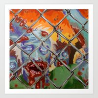 the walking dead Art Prints featuring Walking Dead by Anna Church