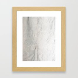 The North Face Framed Art Print
