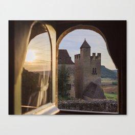 Castle Views Canvas Print