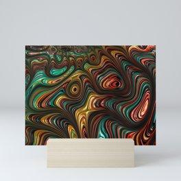 Trippy Fractal Mini Art Print