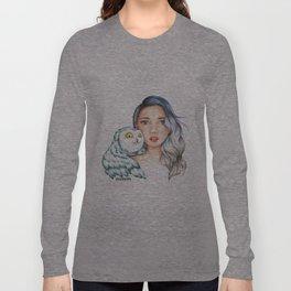 "Element Girls Drawing - ""Air"" Long Sleeve T-shirt"