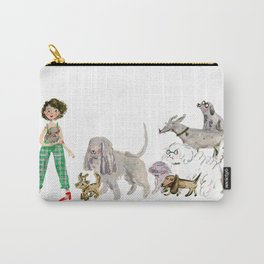 Doggy happiness Carry-All Pouch