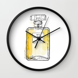 Perfume bottle I Wall Clock