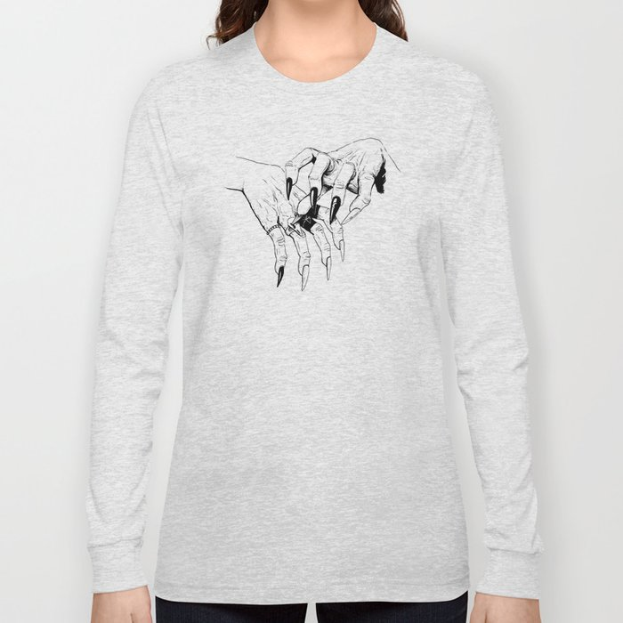 Which Witch Hands Long Sleeve T-shirt