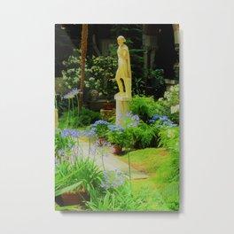 Museum Statue Garden Peace Metal Print