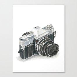 35mm film camera Canvas Print