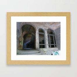 Lost Places, Beelitz Heilstaetten Framed Art Print