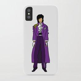 Purple Dove 1 iPhone Case