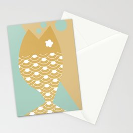 Fish Stationery Cards