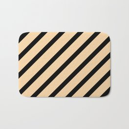 CLASSIC CROSS CREMA Stripes Bath Mat