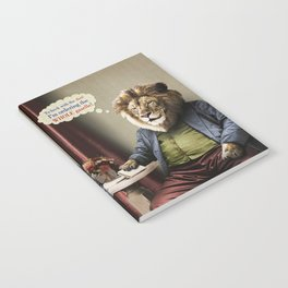 Hungry Lion Notebook