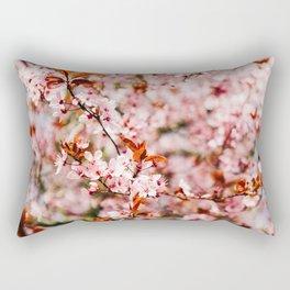 Cherry Blossom Tree (Color) Rectangular Pillow