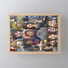 27 Club Framed Mini Art Print